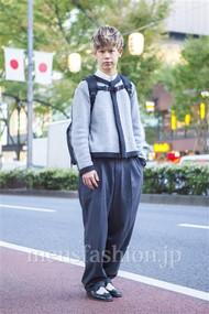 ファッションコーディネート原宿・表参道 2013年11月 岡崎 翼さん