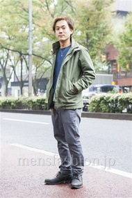 ファッションコーディネート原宿・表参道 2013年11月 川原一高さん