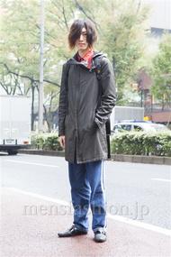 ファッションコーディネート原宿・表参道 2013年11月 北向達也さん