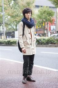 ファッションコーディネート原宿・表参道 2013年11月 高村雄大さん