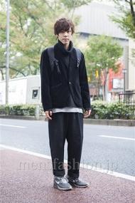 ファッションコーディネート原宿・表参道 2013年11月 原田浩一さん