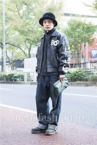 ファッションコーディネート原宿・表参道 2013年11月 井上貴弘さん