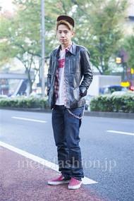 ファッションコーディネート原宿・表参道 2013年11月 松尾芳晴さん