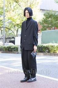 ファッションコーディネート原宿・表参道 2013年11月 くろさん