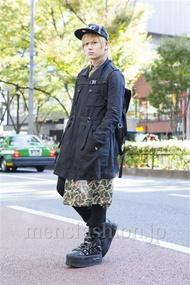ファッションコーディネート原宿・表参道 2013年11月 ryomuzamさん