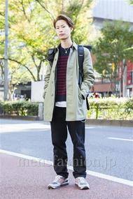 ファッションコーディネート原宿・表参道 2013年11月 荻原聖司さん