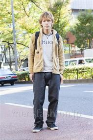 ファッションコーディネート原宿・表参道 2013年11月 中沢和貴さん