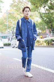 ファッションコーディネート原宿・表参道 2013年11月 伏貫 諒さん
