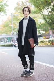 ファッションコーディネート原宿・表参道 2013年11月 伏貫 耕さん