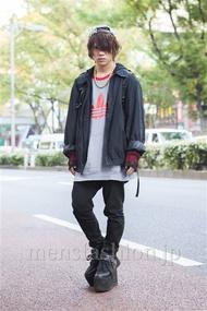 ファッションコーディネート原宿・表参道 2013年11月 夏川登志郎さん
