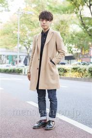 ファッションコーディネート原宿・表参道 2013年11月 よしけんさん