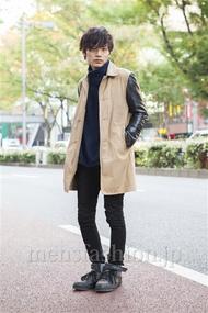 ファッションコーディネート原宿・表参道 2013年11月 上野亮さん