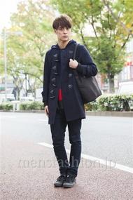 ファッションコーディネート原宿・表参道 2013年11月 佐々木和彦さん