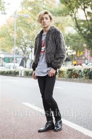 ファッションコーディネート原宿・表参道 2013年11月 宇梶祐市さん