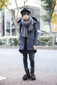 ファッションコーディネート原宿・表参道 2013年11月 勝田俊介さん