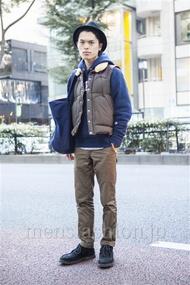 ファッションコーディネート原宿・表参道 2013年11月 青山清志さん