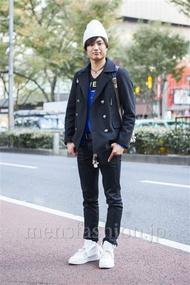 ファッションコーディネート原宿・表参道 2013年11月 ゆうたさん
