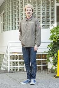ファッションコーディネート原宿・表参道 2013年12月 ワタベショウマさん