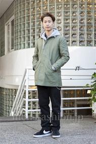 ファッションコーディネート原宿・表参道 2013年12月 荻原聖司さん