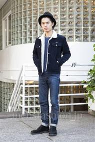 ファッションコーディネート原宿・表参道 2013年12月 青山清志さん