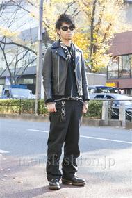 ファッションコーディネート原宿・表参道 2013年12月 小林綾太さん