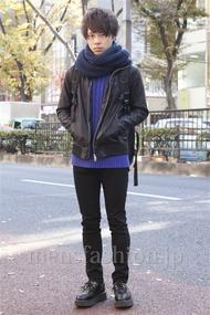 ファッションコーディネート原宿・表参道 2013年12月 和田恵祐さん
