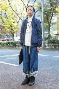 ファッションコーディネート原宿・表参道 2013年12月 KYOSUKEさん