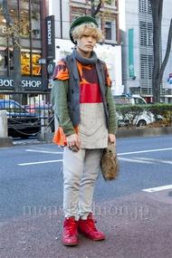ファッションコーディネート原宿・表参道 2013年12月 nabescoさん