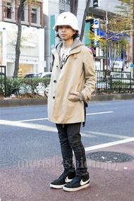 ファッションコーディネート原宿・表参道 2013年12月 佐藤貴龍さん