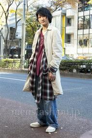 ファッションコーディネート原宿・表参道 2013年12月 高橋直斗さん