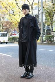 ファッションコーディネート原宿・表参道 2013年12月 くろさん