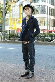 ファッションコーディネート原宿・表参道 2013年12月 高村雄大さん