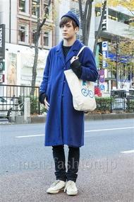 ファッションコーディネート原宿・表参道 2013年12月 佐々木和彦さん