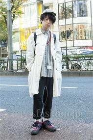 ファッションコーディネート原宿・表参道 2013年12月 アンドウコウイチさん