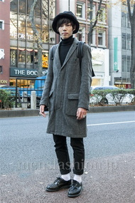 ファッションコーディネート原宿・表参道 2013年12月 鈴木誠希さん