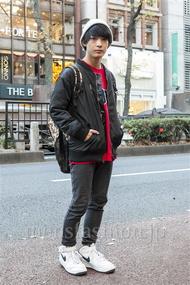 ファッションコーディネート原宿・表参道 2013年12月 名古屋 優さん