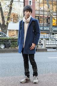 ファッションコーディネート原宿・表参道 2013年12月 梶本祥平さん