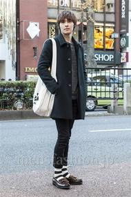ファッションコーディネート原宿・表参道 2013年12月 レイシェンさん