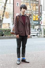 ファッションコーディネート原宿・表参道 2013年12月 森 光さん