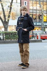 ファッションコーディネート原宿・表参道 2013年12月 中沢和貴さん