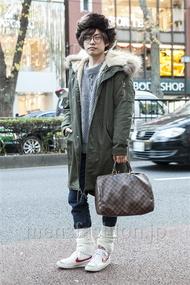 ファッションコーディネート原宿・表参道 2013年12月 井上貴弘さん