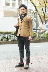 ファッションコーディネート原宿・表参道 2013年12月 向後春輝さん