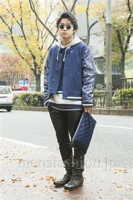 ファッションコーディネート原宿・表参道 2013年12月 石井俊伍さん