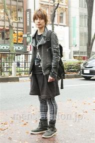 ファッションコーディネート原宿・表参道 2013年12月 新田快広さん