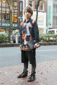 ファッションコーディネート原宿・表参道 2013年12月 鈴木 駿さん