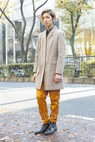 ファッションコーディネート原宿・表参道 2013年12月 宇梶祐市さん