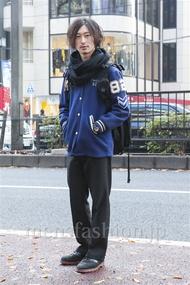 ファッションコーディネート原宿・表参道 2013年12月 松金祐大さん