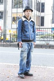 ファッションコーディネート原宿・表参道 2013年12月 村上広太さん