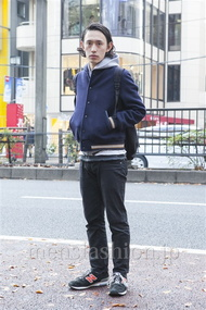 ファッションコーディネート原宿・表参道 2013年12月 登坂信之さん