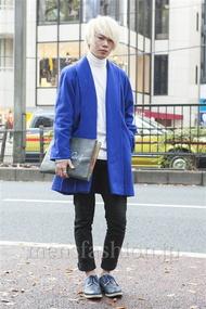 ファッションコーディネート原宿・表参道 2013年12月 高橋佑誠さん